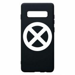Чохол для Samsung S10+ X-man logo