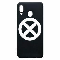 Чохол для Samsung A20 X-man logo