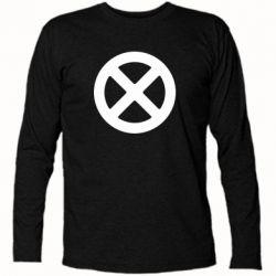 Футболка з довгим рукавом X-man logo