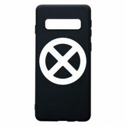 Чохол для Samsung S10 X-man logo