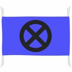 Прапор X-man logo