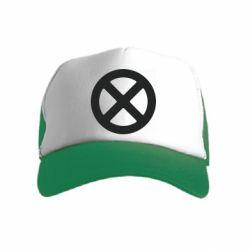 Дитяча кепка-тракер X-man logo