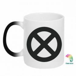 Кружка-хамелеон X-man logo