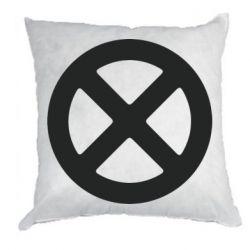 Подушка X-man logo