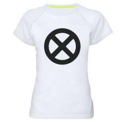 Жіноча спортивна футболка X-man logo