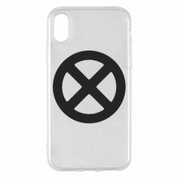 Чохол для iPhone X/Xs X-man logo
