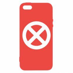 Чохол для iphone 5/5S/SE X-man logo