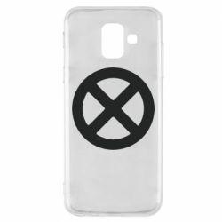 Чохол для Samsung A6 2018 X-man logo