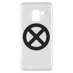 Чохол для Samsung A8 2018 X-man logo