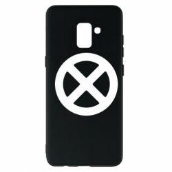 Чохол для Samsung A8+ 2018 X-man logo