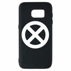Чохол для Samsung S7 X-man logo