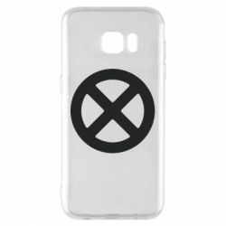 Чохол для Samsung S7 EDGE X-man logo