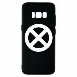 Чохол для Samsung S8 X-man logo