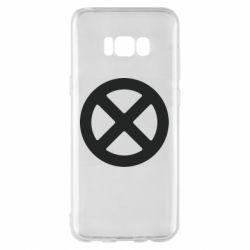 Чохол для Samsung S8+ X-man logo