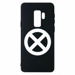 Чохол для Samsung S9+ X-man logo