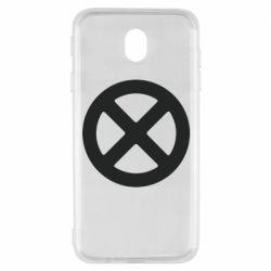 Чохол для Samsung J7 2017 X-man logo