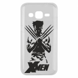 Чехол для Samsung J2 2015 X men: Logan