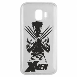 Чехол для Samsung J2 2018 X men: Logan