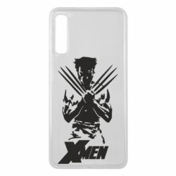 Чехол для Samsung A7 2018 X men: Logan