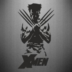 Наклейка X men: Logan