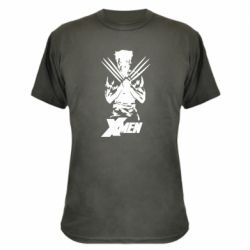 Камуфляжна футболка X men: Logan