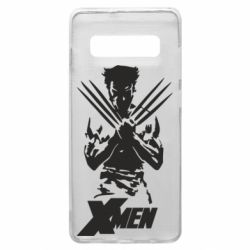 Чехол для Samsung S10+ X men: Logan