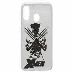 Чехол для Samsung A40 X men: Logan