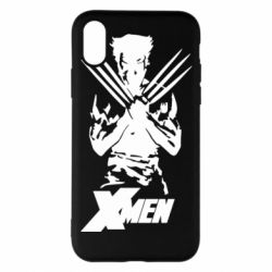 Чехол для iPhone X/Xs X men: Logan