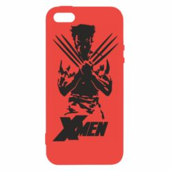 Чехол для iPhone5/5S/SE X men: Logan