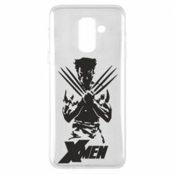 Чехол для Samsung A6+ 2018 X men: Logan