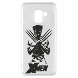 Чехол для Samsung A8 2018 X men: Logan