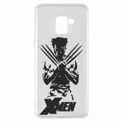 Чехол для Samsung A8+ 2018 X men: Logan