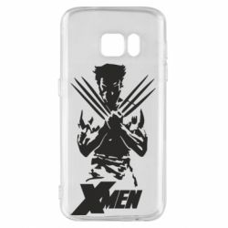 Чехол для Samsung S7 X men: Logan