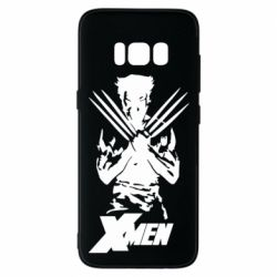 Чехол для Samsung S8 X men: Logan