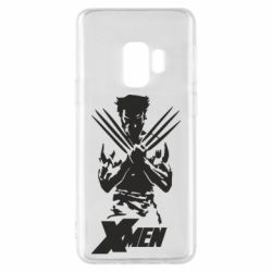 Чехол для Samsung S9 X men: Logan