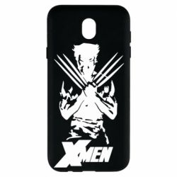Чехол для Samsung J7 2017 X men: Logan