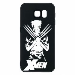 Чехол для Samsung S6 X men: Logan
