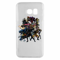 Чехол для Samsung S6 EDGE X-Men Superheroes