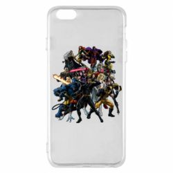 Чехол для iPhone 6 Plus/6S Plus X-Men Superheroes