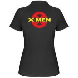 Женская футболка поло X-men - FatLine
