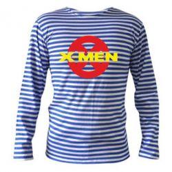 Тельняшка с длинным рукавом X-men - FatLine