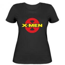 Женская футболка X-men - FatLine