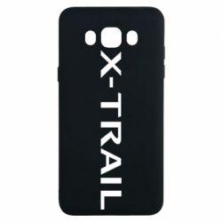 Чехол для Samsung J7 2016 X-Trail