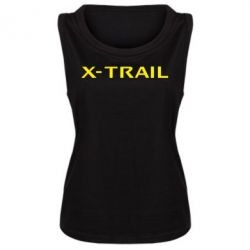 Женская майка X-Trail - FatLine