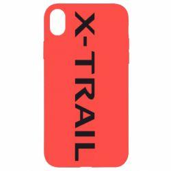Чехол для iPhone XR X-Trail