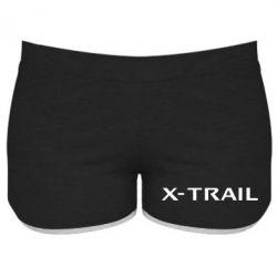 Женские шорты X-Trail - FatLine