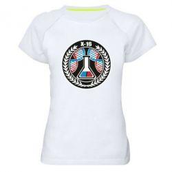 Жіноча спортивна футболка X16
