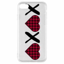 Чехол для iPhone 7 XOXO red