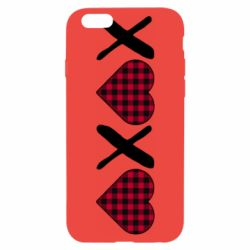 Чехол для iPhone 6/6S XOXO red