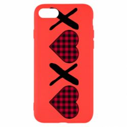 Чехол для iPhone 8 XOXO red